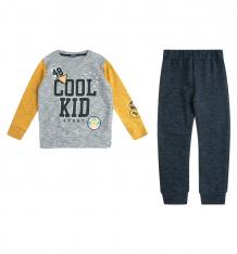 Купить комплект джемпер/брюки bidirik, цвет: серый/желтый 121