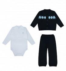 Комплект жакет/брюки/боди Leo, цвет: синий ( ID 7544827 )