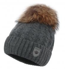 Купить шапка fun time, цвет: серый an-5683