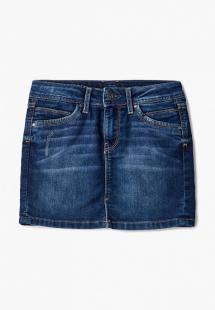 Купить юбка джинсовая pepe jeans pg900284ck0