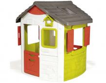 Купить smoby игровой домик jura neo 810500