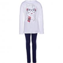Купить комплект: футболка с длинным рукавом и леггинсы trybeyond для девочки 10965899
