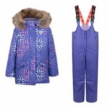 Купить комплект куртка/полукомбинезон stella's kids gotika, цвет: фиолетовый ( id 11261744 )