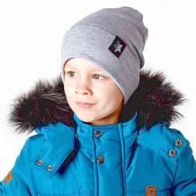 Купить шапка hohloon, цвет: серый ( id 12604414 )