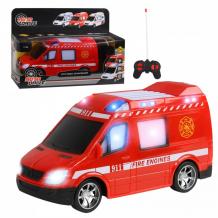 Купить autodrive машинка пожарная на радиоуправлении jb1167976