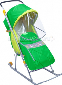 Купить санки-коляска ника тимка люкс тл