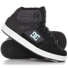 Купить кеды кроссовки зимние детские dc rebound wnt multi черный,синий 1188683