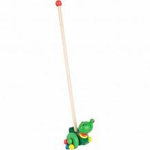 Купить каталка с ручкой игруша лягушка ( id 9684180 )