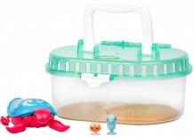 Купить little live pets черепашка и друзья в аквариуме песчинка 28563