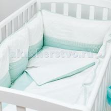 Купить комплект в кроватку colibri&lilly mint pillow (6 предметов)