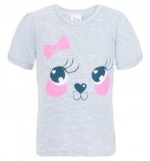 Купить футболка aga baby, цвет: серый ( id 8230315 )