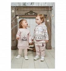 Купить джемпер lucky child зимние каникулы, цвет: молочный/бежевый ( id 9942390 )