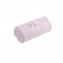 Плед для колыбели Mothercare хлопковый, 90х70 см, розовый Mothercare 5858673