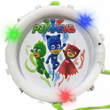 Купить музыкальный инструмент герои в масках (pj masks) барабан со световыми эффектами 32691