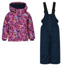 Купить комплект куртка/полукомбинезон salve by gusti, цвет: фуксия ( id 9820362 )