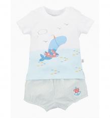 Купить комплект футболка/шорты free age киты, цвет: белый/серый ( id 8134717 )