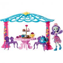 """Купить набор с куклой enchantimals """"чаепитие пэттер павлины и флэпа"""" 8422361"""