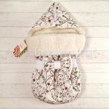 Купить супермамкет зимний конверт justcute цветы на овчине (зима) jczo-cvt-bt