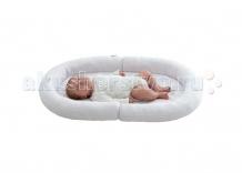 Купить candide коврик с валиками овальный baby nest 82x52 603610