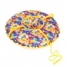 Купить санки иглу надувные народные малые принт кляксы 60 см 2121123000314