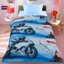 Купить одеяло letto покрывало мотокросс 140х200 см motocross140