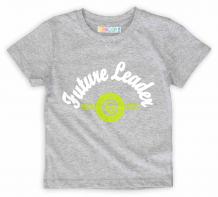 Купить футболка growup, цвет: серый ( id 2927558 )