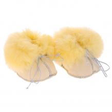 Купить ramili носочки-пинетки baby basic из медицинской овчинки prbb(xx)