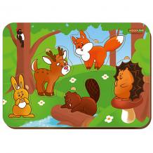 """Купить рамка-вкладыш woodland """"лесные животные"""""""