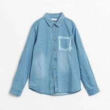 Купить рубашка coccodrillo, цвет: голубой ( id 12805738 )