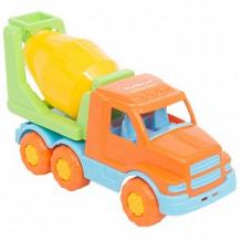 Купить автомобиль полесье бетоновоз «гоша» оранжево-салатовый ( id 12051946 )