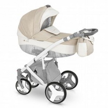Купить коляска 3 в 1 camarelo pireus, цвет: бежевый/белый ( id 10515308 )