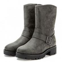 Купить ботинки keddo, цвет: серый ( id 12011224 )