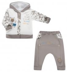 Купить комплект джемпер/брюки ewa klemens, цвет: бежевый ( id 5486131 )