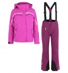 Купить комплект куртка/брюки icepeak helsa jr, цвет: фиолетовый 852128839iv