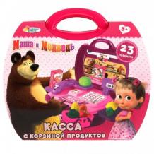 """Купить игрушка """"касса"""" маша и медведь играем вместе, с набором продуктов маша и медведь 997092990"""