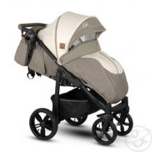 Купить прогулочная коляска camarelo elix, цвет: светло-бежевый меланж/бежевая экокожа ( id 10515257 )