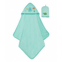 """Купить полотенце с капюшоном """"осьминог"""" и рукавичка mothercare 4225407"""