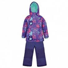 Купить комплект куртка/полукомбинезон salve, цвет: синий/сиреневый ( id 10675874 )