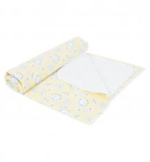 Купить звездочка пеленка 120 х 80 см, цвет: желтый 11100508