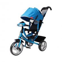Купить трехколесный велосипед moby kids comfort 12x10, синий ( id 11063337 )