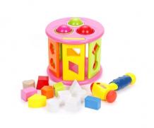 Купить сортер наша игрушка с молоточком 3 шара 329