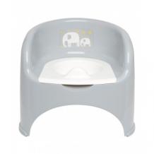 Купить горшок-кресло, детский, цвет: серый mothercare 2304517