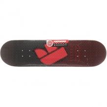 Купить дека для скейтборда для скейтборда footwork carbon formula red black/red 31.5 x 8 (20.3 см) черный ( id 1204703 )
