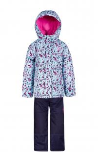 Купить комплект куртка/полукомбинезон salve by gusti, цвет: голубой ( id 6491341 )