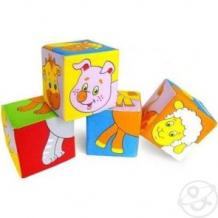Кубики Мякиши Собери картинку животные 2, 8 см ( ID 922096 )