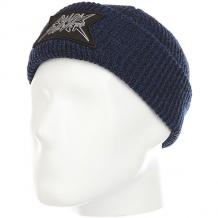 Купить шапка детская quiksilver performedpatchk turkish sea темно-синий 1181733
