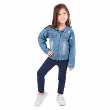Купить куртка джинсовая fun time, цвет: синий ( id 11570932 )