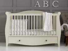Купить кроватка mothercare bloomsbury 140×70 см, цвет: слоновая кость mothercare 7278219