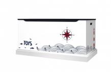 Купить continent decor moscow большой ящик для игрушек море lbox.sea.9003.pr.02