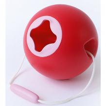 Купить ведёрко для воды quut ballo, красно-розовый ( id 11745771 )